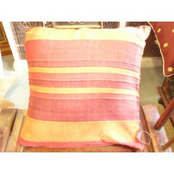 Cushion cover 40x40 cm bande red/bordeaux