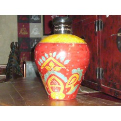 water jar hand painting  Mexico