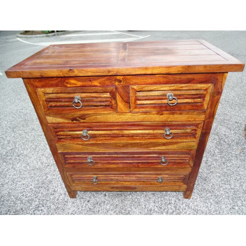 commode 39 bahamas 39 5 tiroirs d coration int rieure