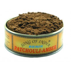 Natural Resin Incense PATCHOULI AMBER