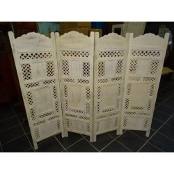 screen/head bed UNIS white cassé