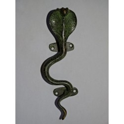 handle brass Cobra green 23 cm