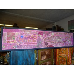 single textile headboard piece 180x45 cm - 7
