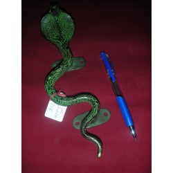 bronze cobra handle 23 cm