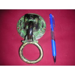 Rings bronze elephant 14 cm