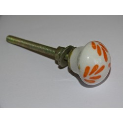 Small Furniture handle Orange foliage