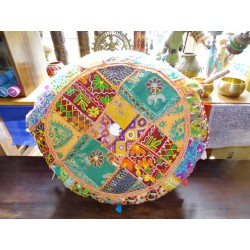 Pouf Indian diameter 50 cm