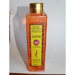 LOTUS perfume massage oil (200 ml)