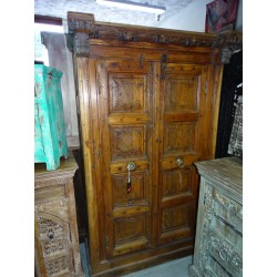 Old cabinet of South India with door lintel