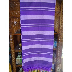 Indian bed cover KERALA color 3 purple
