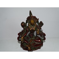Large bronze statue of the standing Buddha - 27 cm