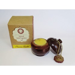 Solid perfume in organic wax sandalwood SONG OF INDIA (6 Grs)