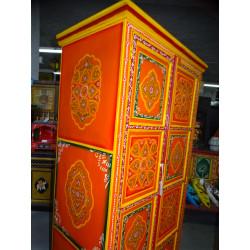 poignée en bronze animal musicien tamtam vert