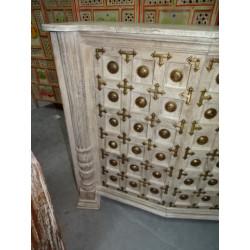 Devdasis stone statue