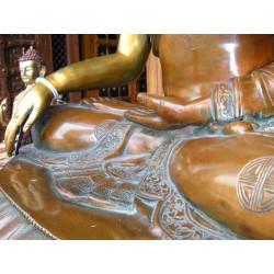 8x8 cm Turquoise 2 yellow flowers