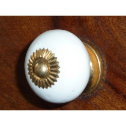 ceramic knobs white STATES