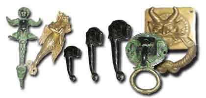 Bronze handles