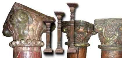 Indian pillars