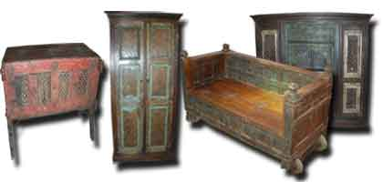 Old Indian furniture