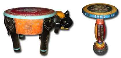 Small Indian furniture