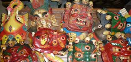 Nepalese masks