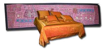 Tête de lit textile