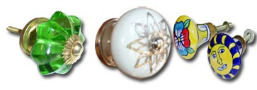 Porcelain handles